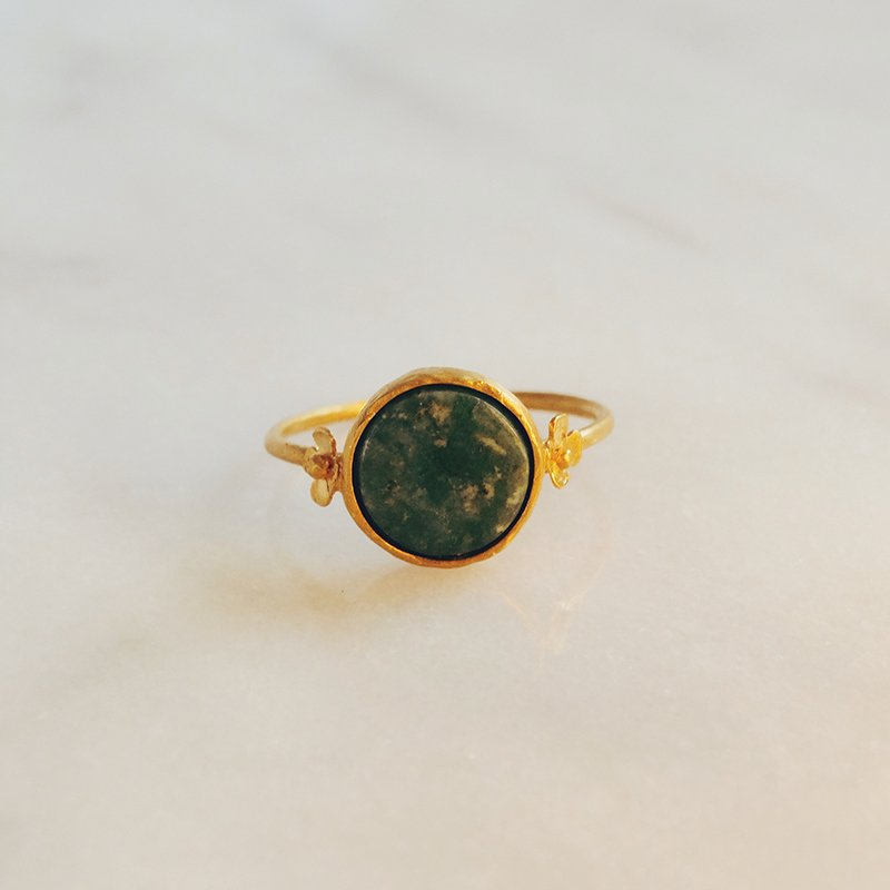 Handmade gemstone ring Erin