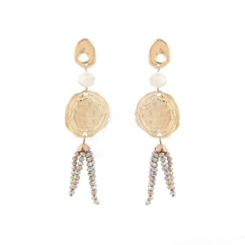 Gold plated earrings Pearl