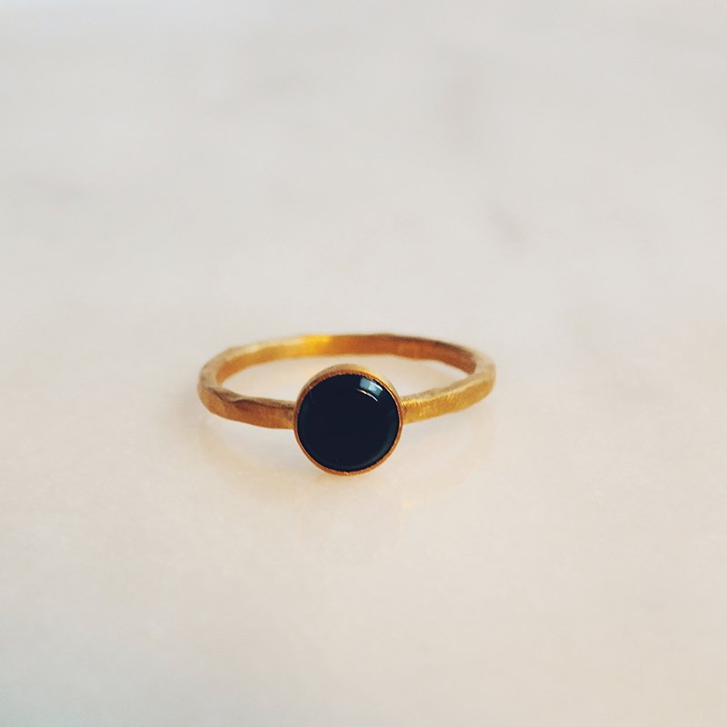 Handmade gemstone ring Lupita