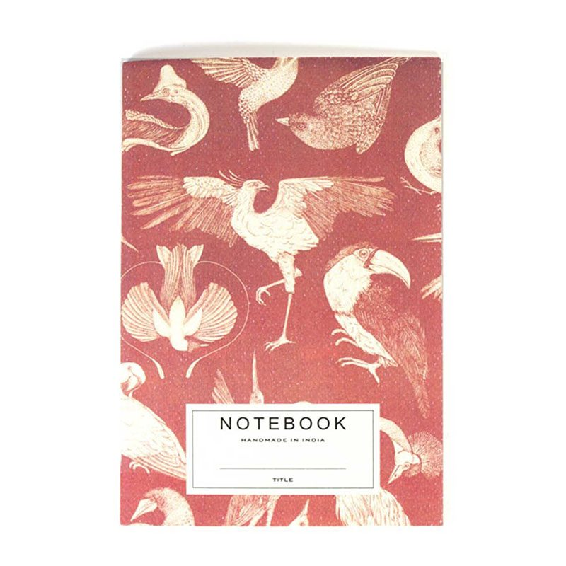 Handmade notebook Birdy