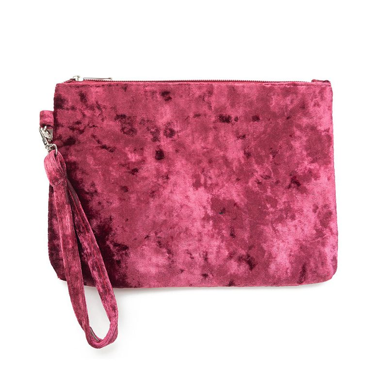Velvet make-up bag Florence