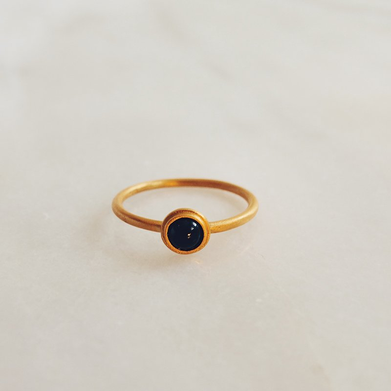 Handmade gemstone ring Skye