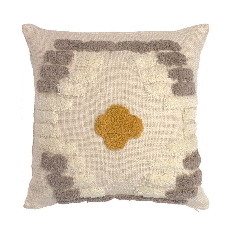 Tufted cushion Alain