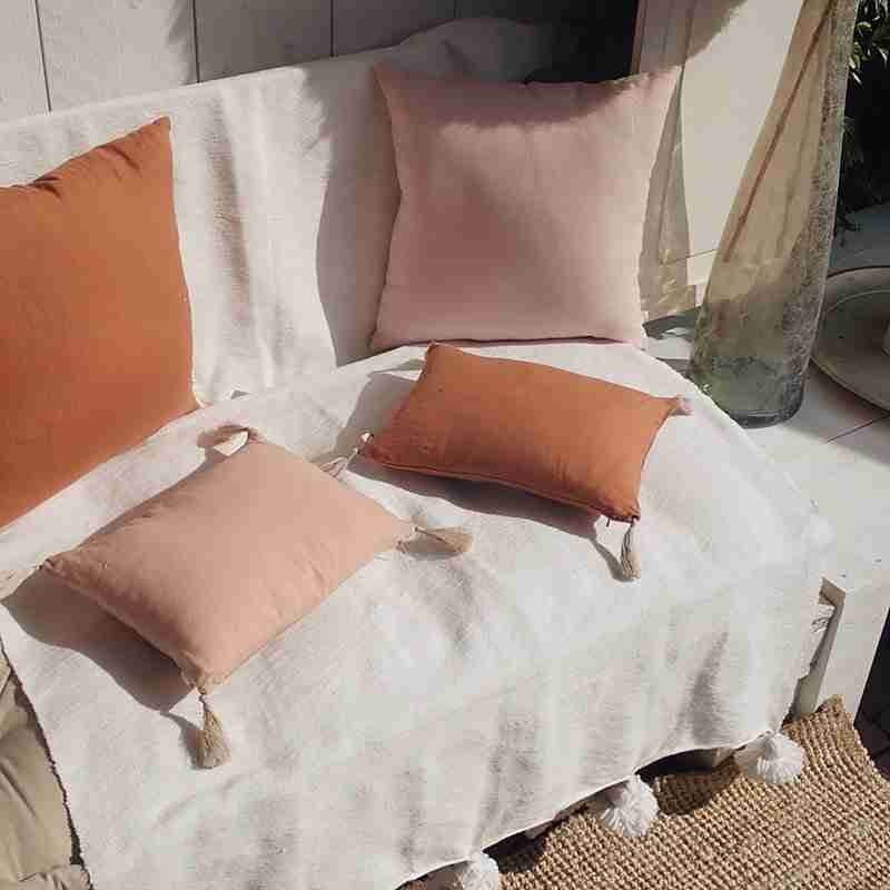Washed Linen Cushion Bahia