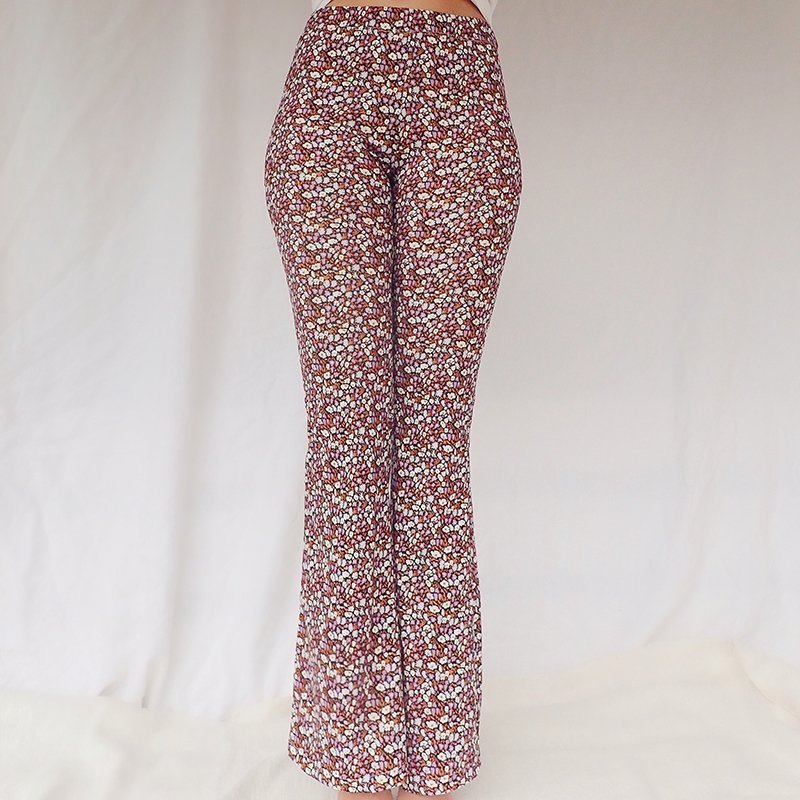 Floral Flare Pants Amber