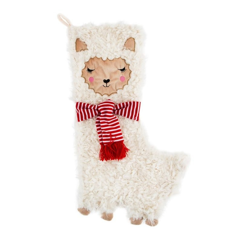 Fa La Llama Christmas Stocking