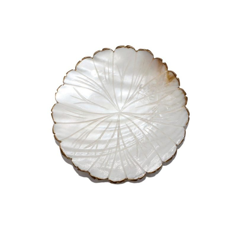 Handmade Mother Of Pearl Daisy Dish